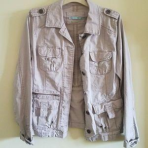 Maurices khaki cargo style jacket size Medium